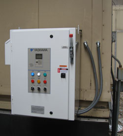 VFD Installation for an Air Handler New York City
