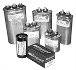 RUN CAPACITOR - 370 VOLT OVAL CASE