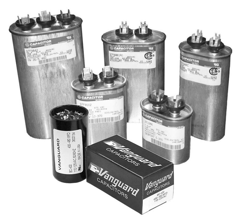 108 130 mfd start capacitor 250 volt round case p no for Electric motor start capacitor