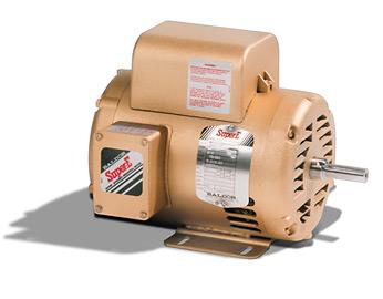 El1409t premium efficient super e baldor single phase for Single phase motor efficiency