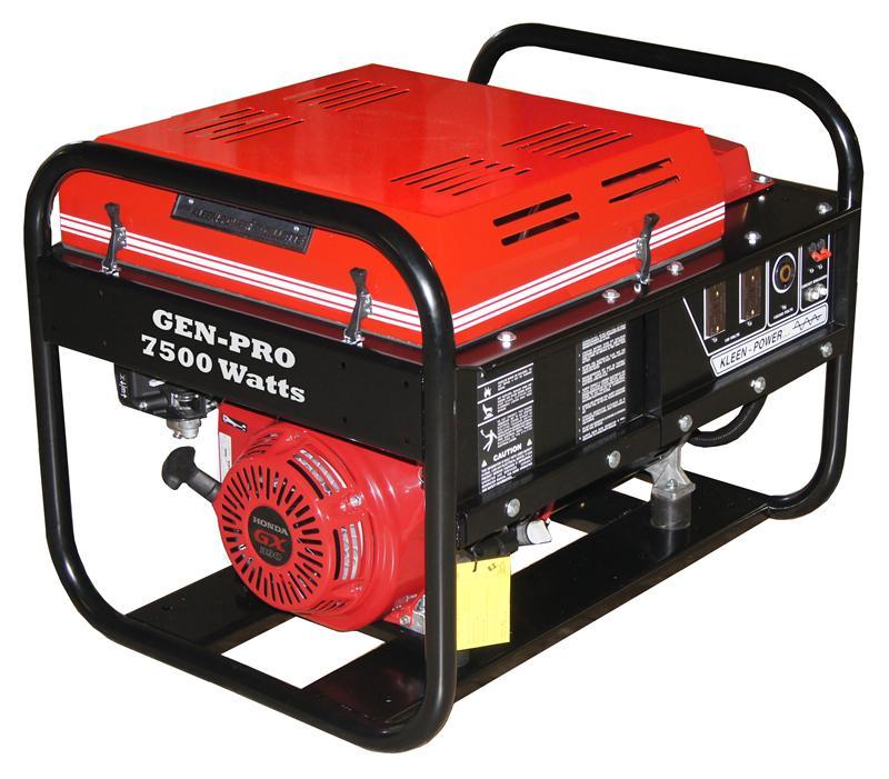 Gpe 75eh Gillette Gen Pro Generator 7500 Watts 120 240