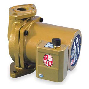 lf bell gossett nbf circulator pump wet rotor phase bell gossett 103252lf
