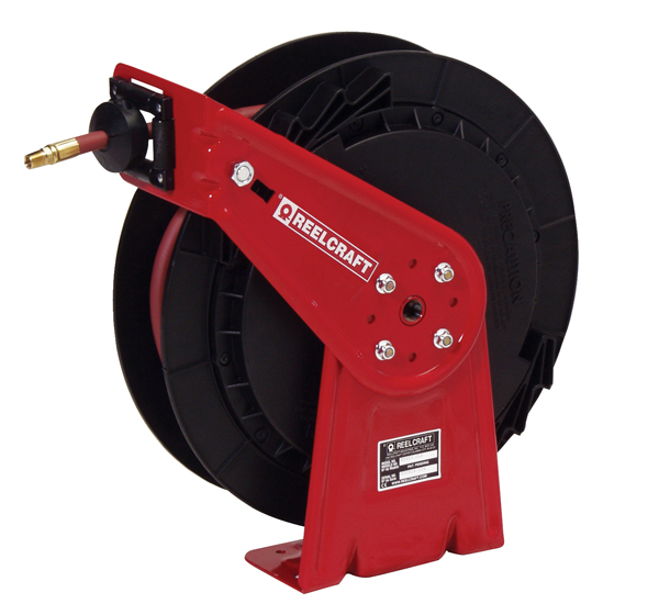 RT650-OLP Reelcraft Air / Water Hose Reel With Hose (3/8 inch Hose ID