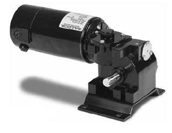 Gp7304 Baldor Right Angle Dc Gear Motor 90 Vdc 1 8 Hp