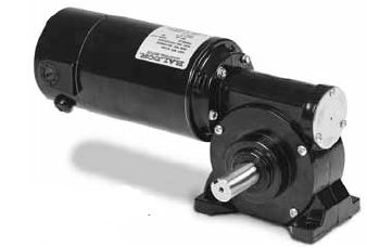 Gp7401 Baldor Right Angle Dc Gear Motor 90 Vdc 1 8 Hp