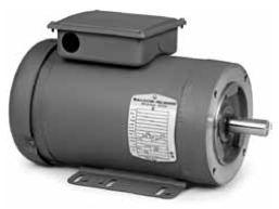 Cuhm3538 baldor c face unit handling motor tefc 1 2 hp for Motor baldor 20 hp