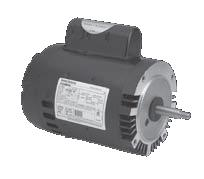 A o smith b128 century c face pool and spa pump motor 1 hp for Century centurion pool pump motor