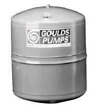 V25h Goulds Pressure Tank Water Horizontal W Brackets