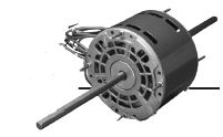 8523 u s motors emerson double shaft fan blower motor for Double ended shaft electric motor