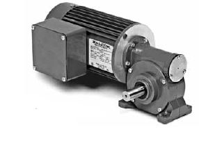 Gm3337 Baldor Right Angle Ac Gearmotor 1 6 Hp 45 1 Gear